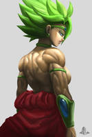 Kale in Legend Broly Outfit