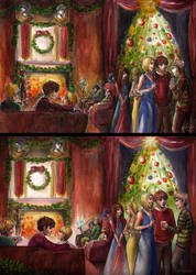 Merry Christmas! by alejadraws