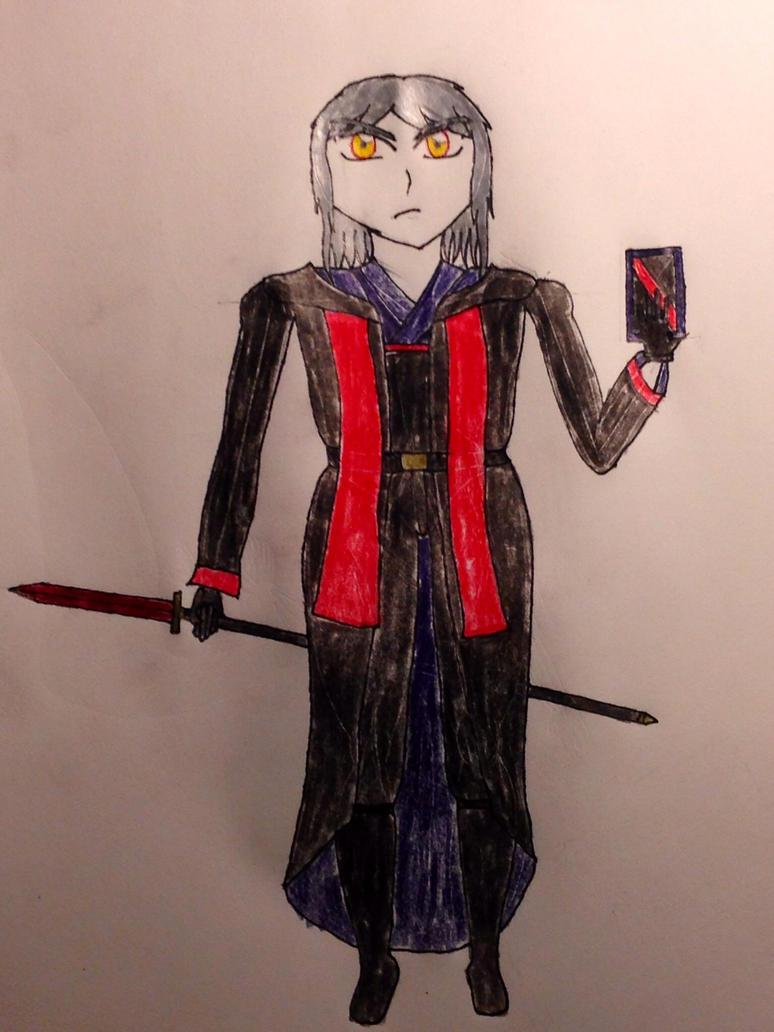 Karasu the last of the Tsukiyomi Sorcerers by Rikuthedragonslayer
