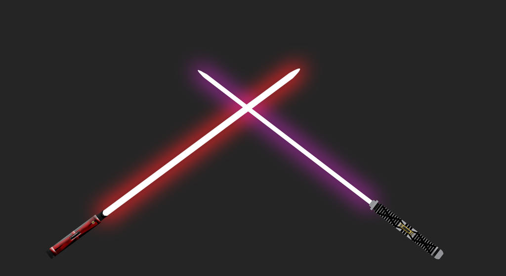 Jake Strife's Lightsabers by Rikuthedragonslayer