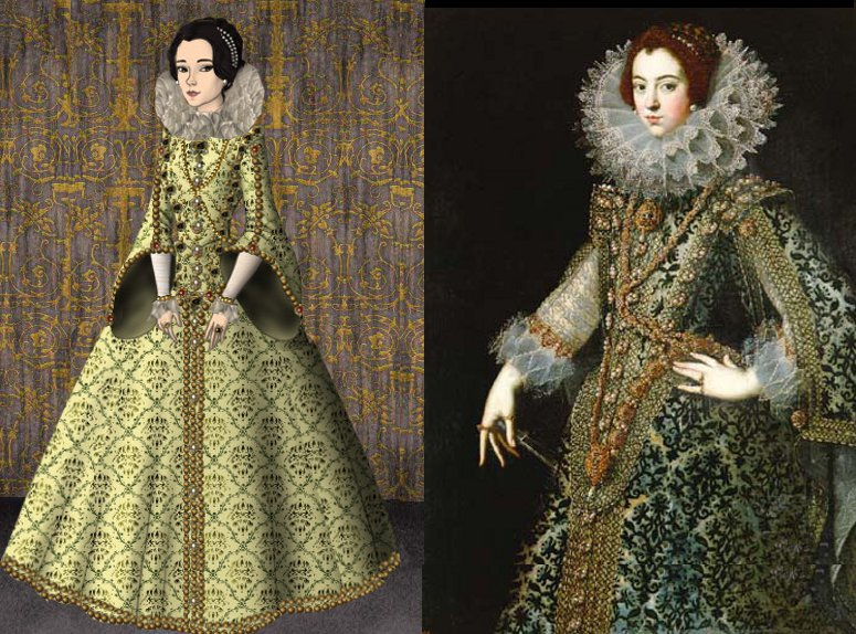 Elisabeth of France by me by LadyBolena