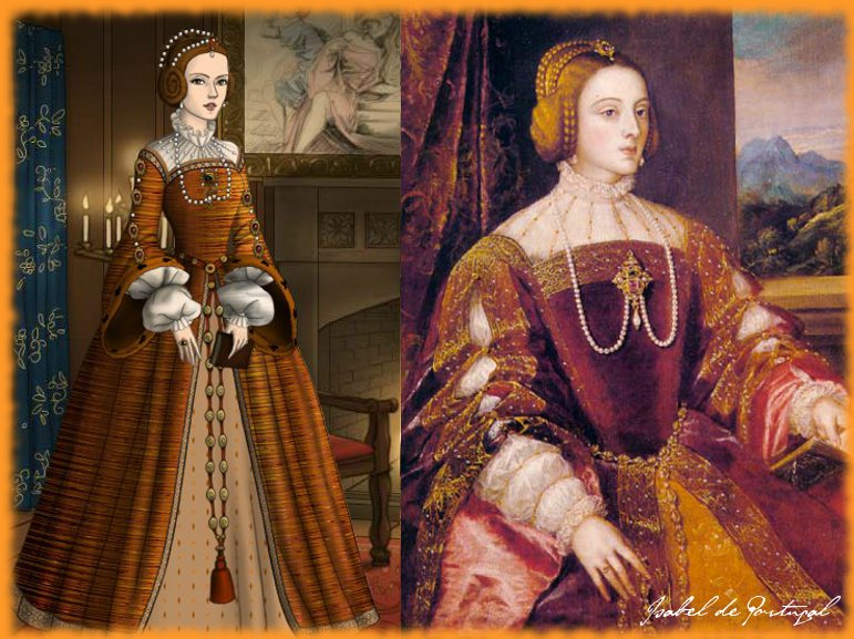 Isabella of Portugal by me by LadyBolena on DeviantArt