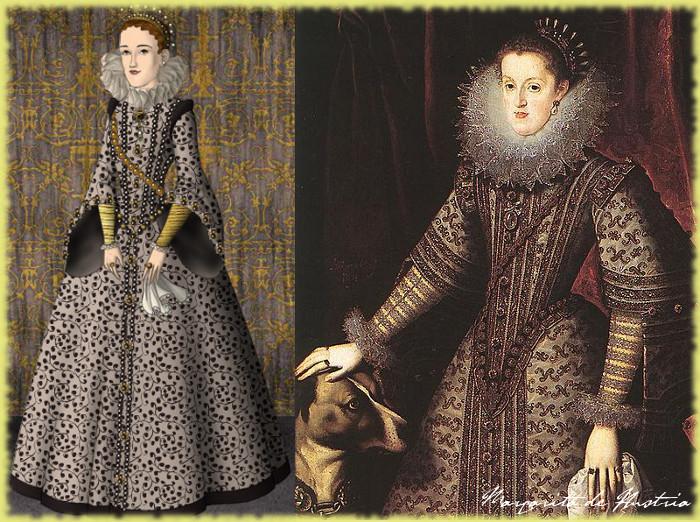 Margaret of Austria by me by LadyBolena