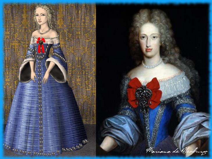 Maria Anna of Neuburg by LadyBolena