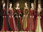 Christmas Tudor Queens