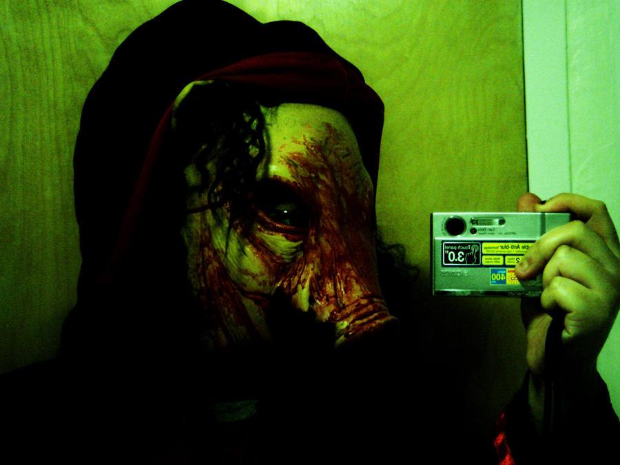 Pig Mask Halloween 2009 v2 by fakenails on DeviantArt
