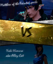 Yuki VS Matthew by TheMidnightBlackCat
