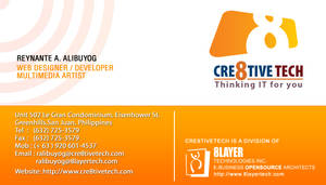 Business Card by rheyzer