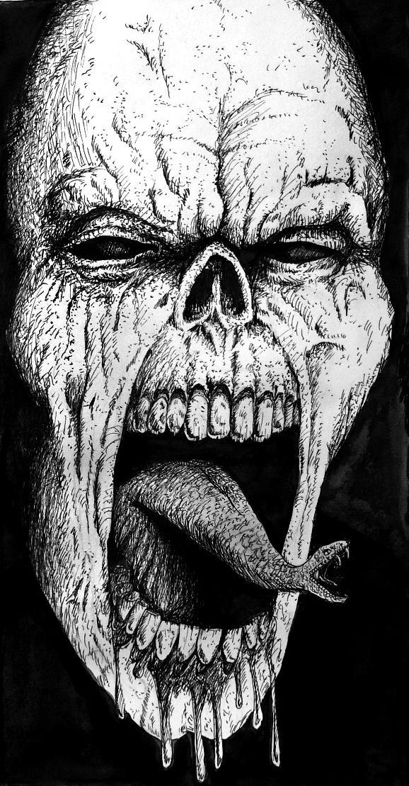 Reptile tongue by Sebmaestro