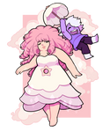 Rose and Amethyst