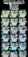 Pacapillars - Trait Catalog: Textures