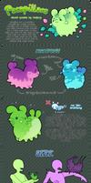 Pacapillars - Species Guide