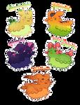 [Closed] Fruity Pacapillars