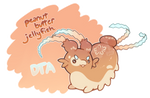 [Closed] DTA! Peanut Butter Jellyfish by toripng