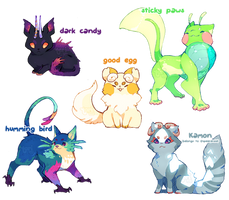 [Closed] Those are some weird cats auction