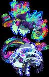 [Closed] Color Spray Pacapillars (+ Auction)