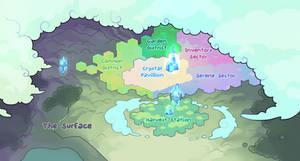 Pacapillars - Chrysalopolis District Map