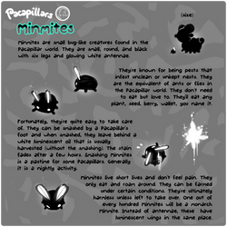 Pacapillars - Monster Manual: Minmites