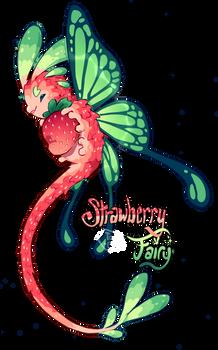 [Closed] Strawberry Fairy Pacapillar Auction
