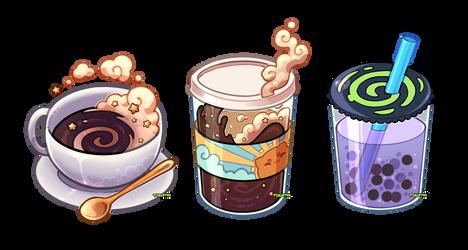 Coffee, coffee, boba