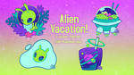 Alien Vacation Merch Kickstarter by toripng