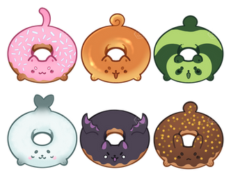 Donuts by toripng