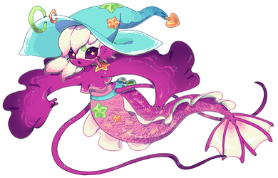 Sea Spark Witch by toripng