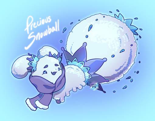 Precious Snowball Pacapillar