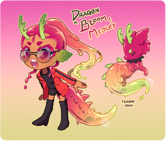 [Open] Dragon Bloom Medley Teabon