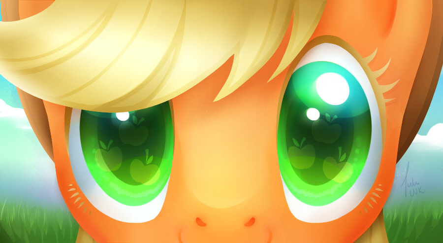 Eyes of honesty by Crowik