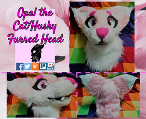 Opal Fursuit Head