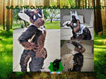 Saiai the Dutch Angel Dragon Fullsuit by SamTheMoose101