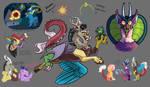 World Bits: The Draconequus by Loryska