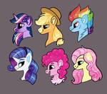 Cartoon Horse Hair