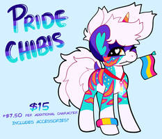 Pride Chibis! CLOSED FOR NOW