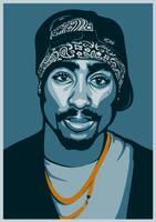 Tupac Amaru Shakur by UCArts