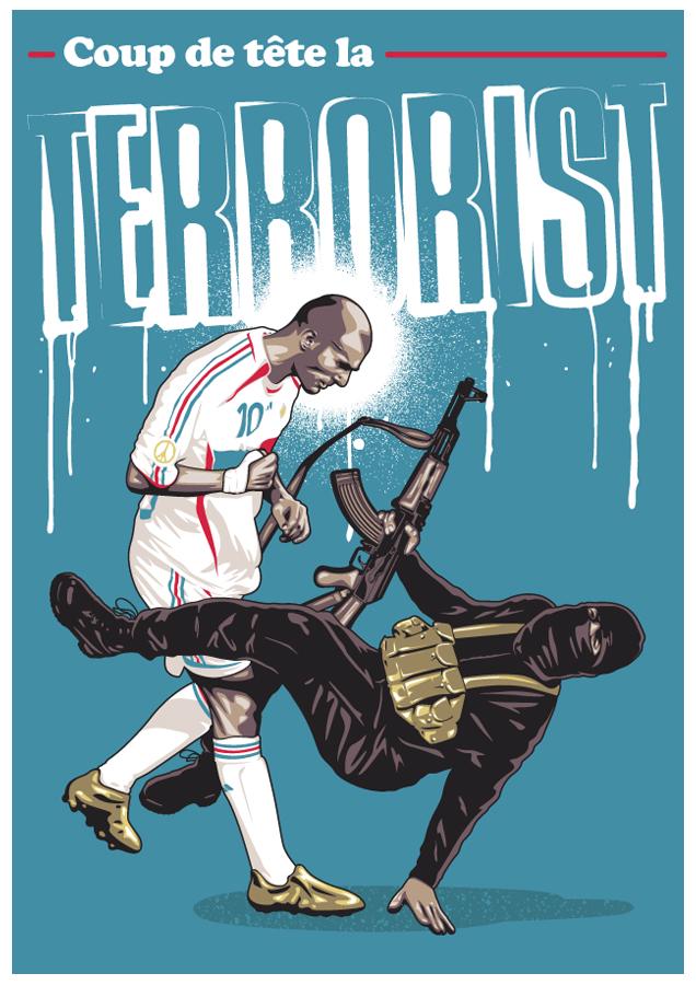Coup de tete la Terrorist! by UCArts