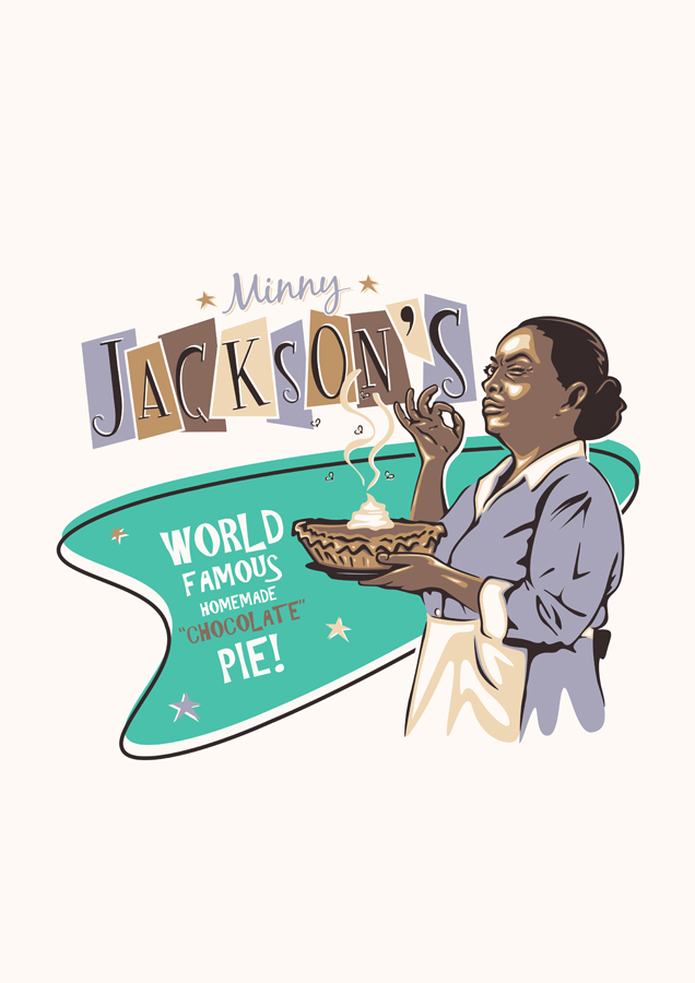 MINNY JACKSON'S WORLD FAMOUS PIE by UCArts