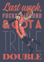 MR. TRIPLE-DOUBLE