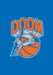 DOOM VS NYC LOGO
