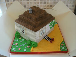 Wizard Of Oz Cake by gertygetsgangster