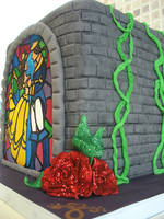Beauty and the Beast Cake.1 by gertygetsgangster