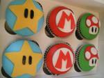 Mario Vegan Cup Cakes