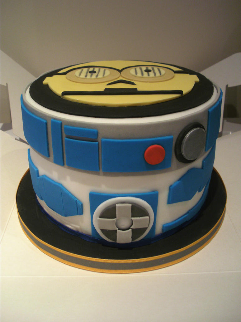 Star Wars Cake Design Pinterest : Star Wars Cake.1 by gertygetsgangster on DeviantArt