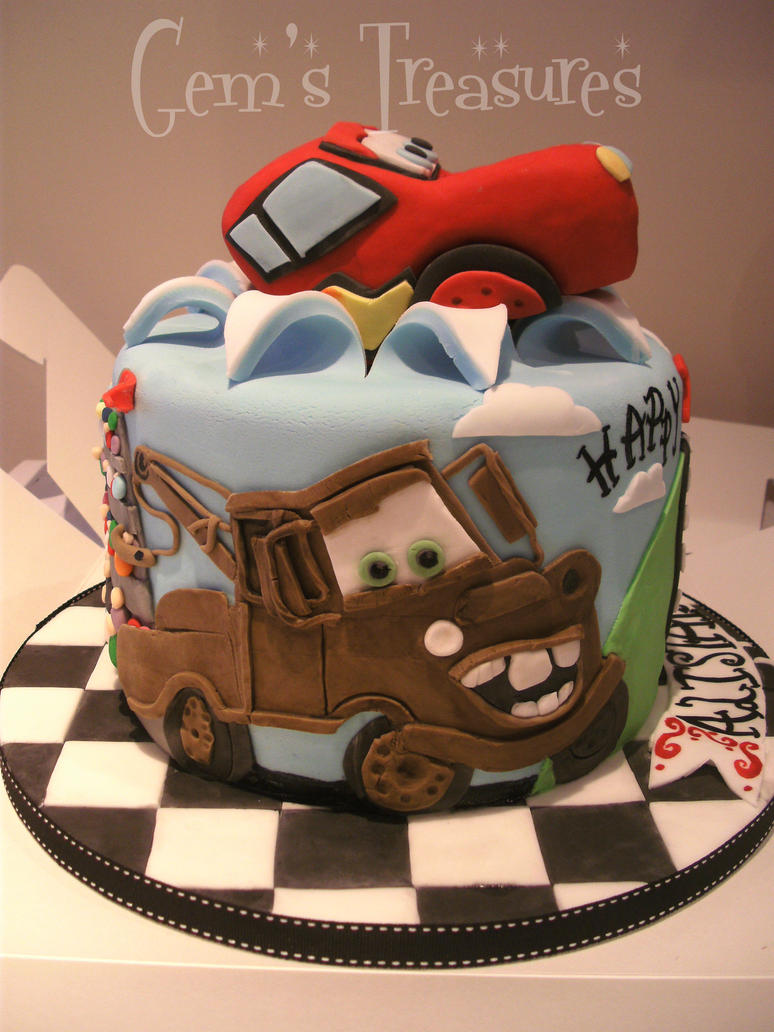 Car Cake Images Download : Cars 2 Cake by gertygetsgangster on DeviantArt