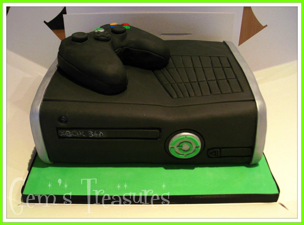 Xbox One Cake Designs : Xbox 360 Cake and Crispy Controller! by gertygetsgangster ...