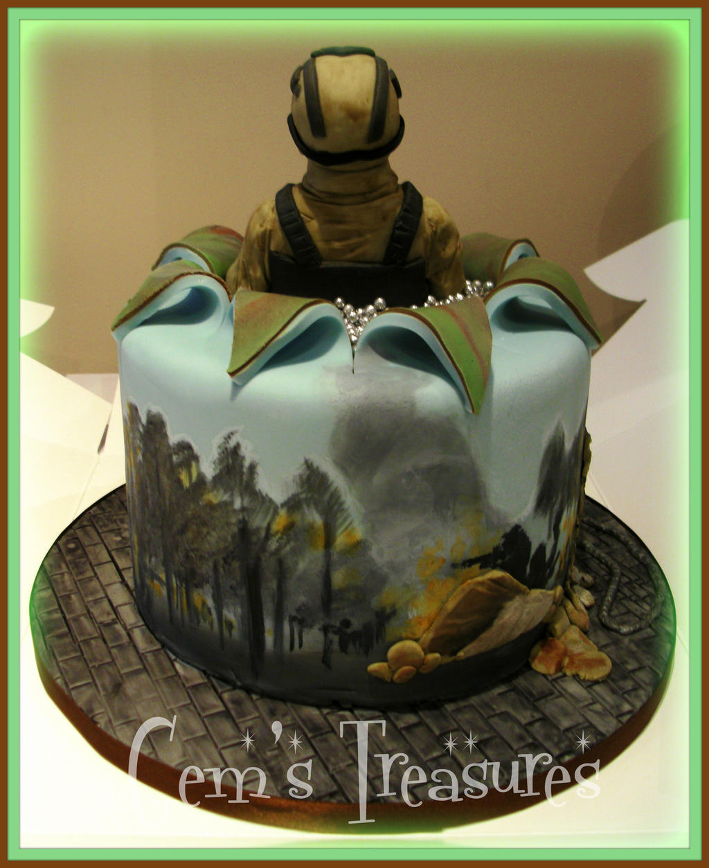 Call Of Duty Cake By Gertygetsgangster On Deviantart