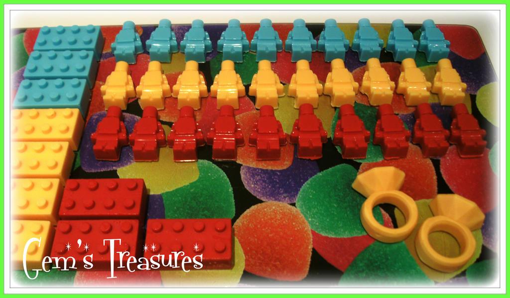 Edible Lego Men and Lego Blocks.... Plus Diamonds by ...