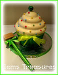 Giant Cupcake Candy Smash!