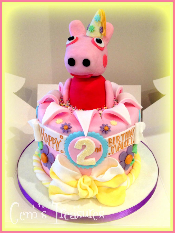peppa pig pop up cake by gertygetsgangster on deviantart